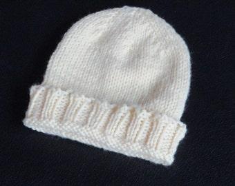 Yellow Infant Cap   birth-three months
