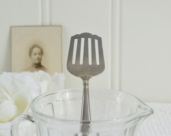 Herring fork, vintage Swedish fish server, relish fork