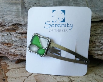 Sea Glass Barrette