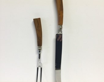 Carving set, armack england carving set, stainless steel carving set