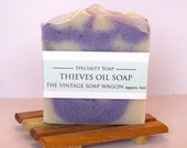THIEVES OIL Handmade Soap - made with all Essential Oils