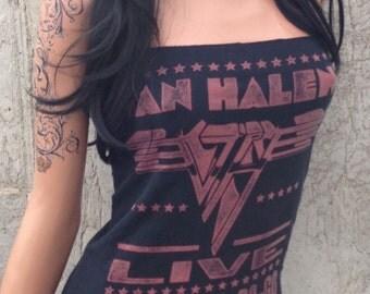 Van Halen Whiskey A Go Go Mini Dress