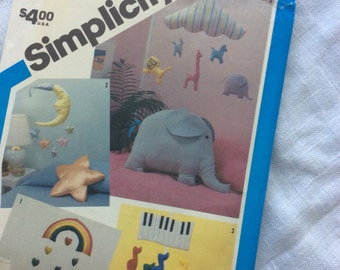Simplicity 6480 nursery mobiles and pillows
