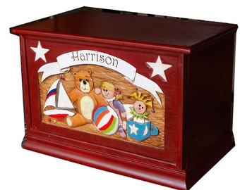 Toy Box Personalized