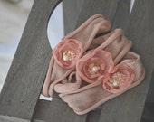floral tieback - newborn tieback- sitter tieback- photography prop- vintage photography props