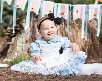 Alice in Wonderland Inspired, Girls Disney Dress, Princess Dress, Birthday Party, Baby, Toddlers, Disney Princess Dress, Queen of Hearts