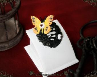 Butterfly Monster Brooch