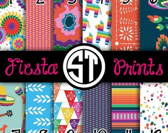 Fiesta Prints printed Vinyl or HTV to use in vinyl cutter... You choose size 6x6, 8.5x11, 12x12, 12x24 or 12x36