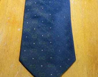 Authentic Gucci Silk Tie