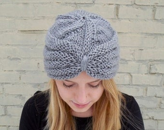 Knit Turban Hat