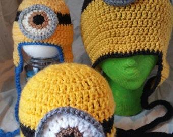 Minion Inspired Hats