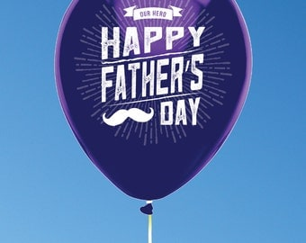 Personalized Father's Day Balloons