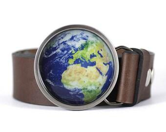 Planet Earth Belt Buckle, Globe belt buckle, Nature belt buckle, women's belt buckle, men's belt buckle