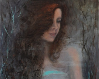In Her Dreams Original Painting by Kelly Berkey