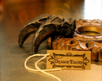 Fantastic Beasts, Harry Potter, How to Train Your Dragon, Kids Party Favors, Game of Thrones Gift - Six Magical Dragon Talon Cookies