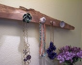 Rustic Jewelry/Scarf Display - Knob Hanger