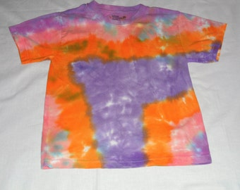 Children Hand Dyed T-Shirts, Hand Dyed T-Shirts, OOAK