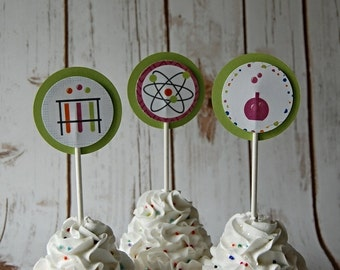 Printed Science Topper (12pc)