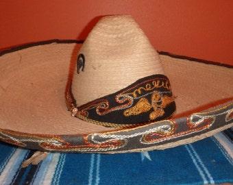 Large Woven Sombrero
