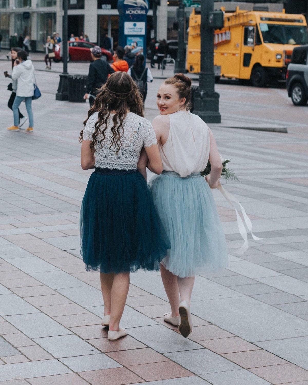 baby blue tulle skirt soft tulle skirt midi by cestcany