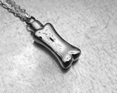Cremation Necklace, Dog Urn, Urn Locket, Ashes Holder Necklace, Cremation Locket, Memory Locket, Cremation Jewelry