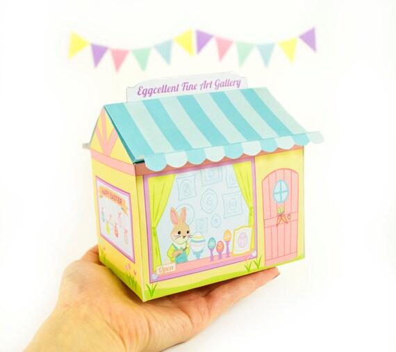 Printable Easter Gift Box Diy Easter By Littleluxuriesloft