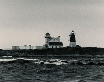 Fine art photograph, Point Judith Lighthouse, Rhode Island