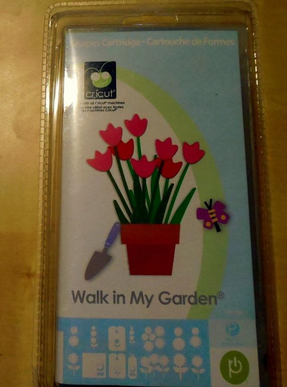 cricut walk in my garden handbook