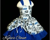 Star Wars R2D2 MiniBelle Ruffle Dress for Girls - Fairytale - Pageant - Birthday - Party - Princess - Celebration - Special Occasion