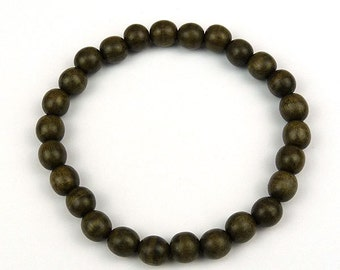 Men's Greywood Bead Bracelet 8mm
