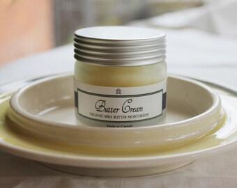 Butter Cream Body Butter - Organic Shea Butter Moisturizer