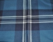 Earl of St. Andrews Tartan Fabric. 100% 10oz Pure New Wool. Large Remnant Piece.