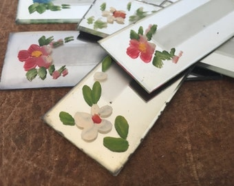 Vintage Mirror Name Place Cards.