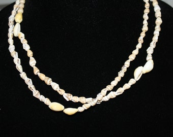 Pair of Vintage Hilo Hatties Shell Necklaces