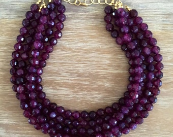 The Sparkling Amethyst Necklace