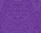 Australian Indigenous Fabric: Untitled in Purple