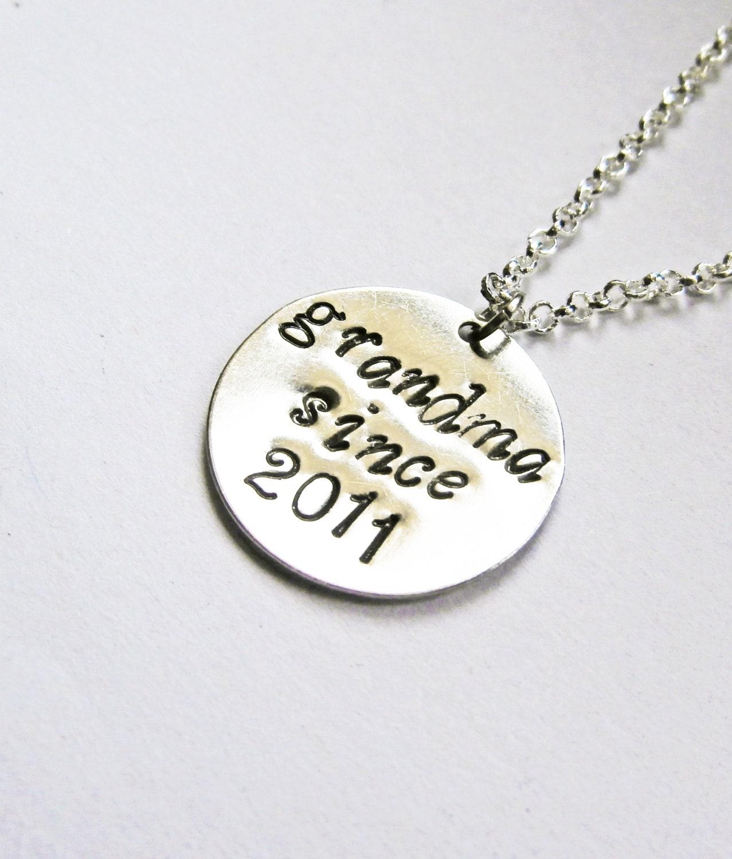 Established necklace for grandma grandmother necklace new for Grandmother jewelry you can add to