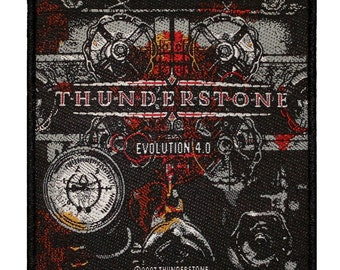 "Power Metal ""Thunderstone: Evolution 4.0"" Band Album Art Sew On Applique Patch"