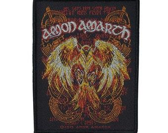 "Band Art ""Amon Amarth"" Phoenix Patch Melodic Death Metal Jacket Sew-On Applique"