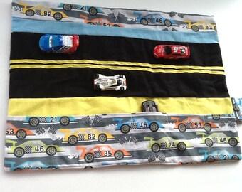 Matchbox Race Car Caddy Roll Up Play Mat