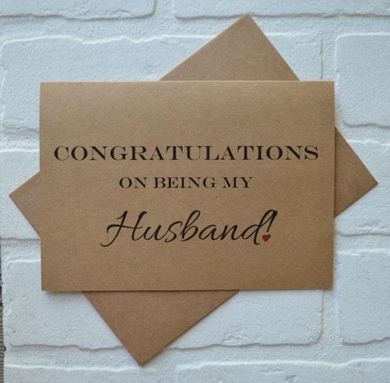 gefeliciteerd met je echtgenote