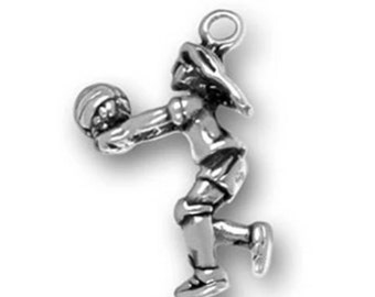 Volleyball Player Charm