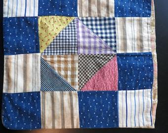 Antique patchwork bag, c. 1910