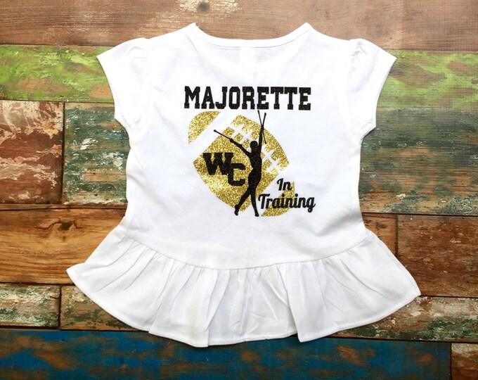 Majorette in Training T shirt, Majorette T shirt, Future Majorette T shirt, Baton t shirt, Twirler t shirt