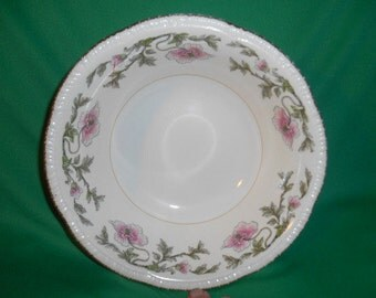 """One (1),  Homer Laughlin, 8"""" Round Vegetable Bowl, in the W 146 Pattern."""