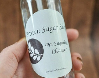 Pre Sugaring Cleanser 4 oz Use to cleanse skin prior to hair removal