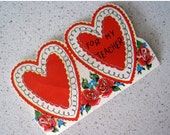 60% OFF Mid Century Teacher Valentine's Day Card