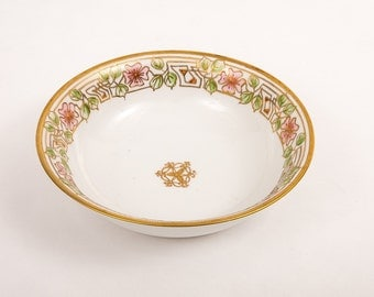 Vintage Hand-painted Nippon Serving Bowl