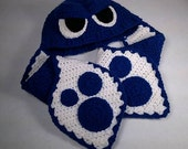 Splatoon Inspired Squid Hat, Adult, Teen Sized, Choose Your Squid Color - Get your Geek on!
