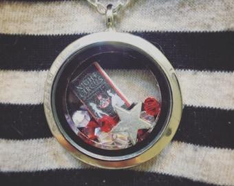 The Night Circus Micro Mini Book Locket